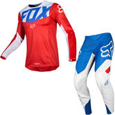 Fox Racing 2019 360 Kila Motocross Jersey & Pants Blue Red Kit