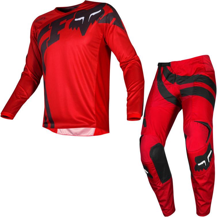 Fox Racing 2019 180 Cota Motocross Jersey & Pants Red Kit