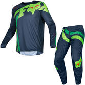 Fox Racing 2019 180 Cota Motocross Jersey & Pants Navy Kit