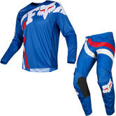 Fox Racing 2019 Youth 180 Cota Motocross Jersey & Pants Blue Kit