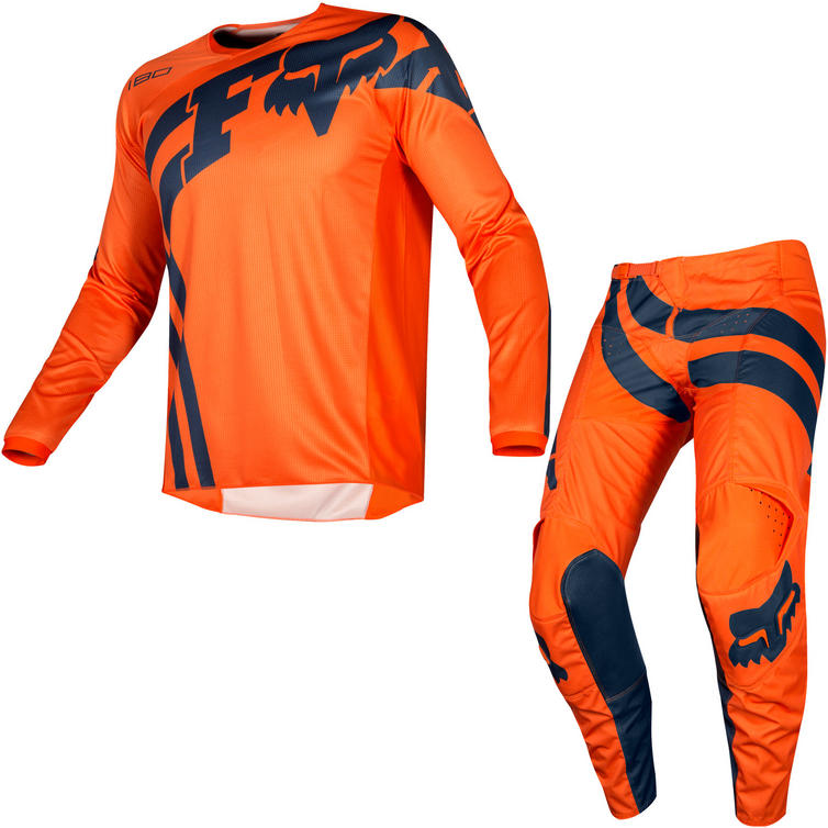 Fox Racing 2019 Youth 180 Cota Motocross Jersey & Pants Orange Kit