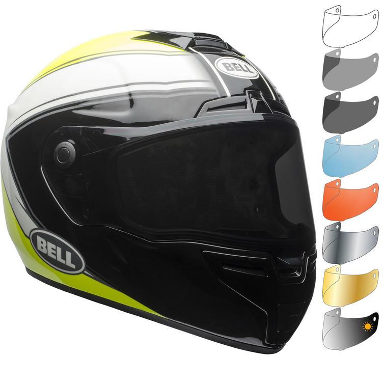 Bell SRT Phantom Motorcycle Helmet & Visor