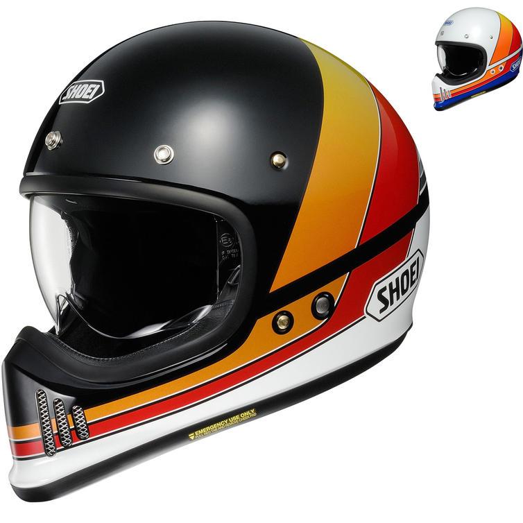Shoei EX-Zero Equation Motorcycle Helmet