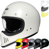 Shoei EX-Zero Plain Motorcycle Helmet & Visor