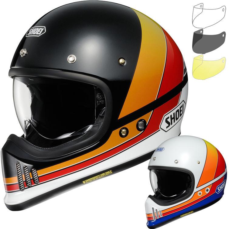 Shoei EX-Zero Equation Motorcycle Helmet & Visor
