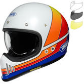 Shoei EX-Zero Equation Motorcycle Helmet & Visor