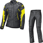 Held Molto Gore-Tex Motorcycle Jacket & Bene Trousers Black Fluo Yellow Kit