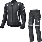 Held Aerosec Gore-Tex Motorcycle Jacket & Trousers Black White Kit