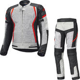 Held Aerosec Gore-Tex Motorcycle Jacket & Trousers Grey Red Kit