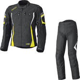 Held Luca Gore-Tex Motorcycle Jacket & Telli Trousers Black Fluo Yellow Kit