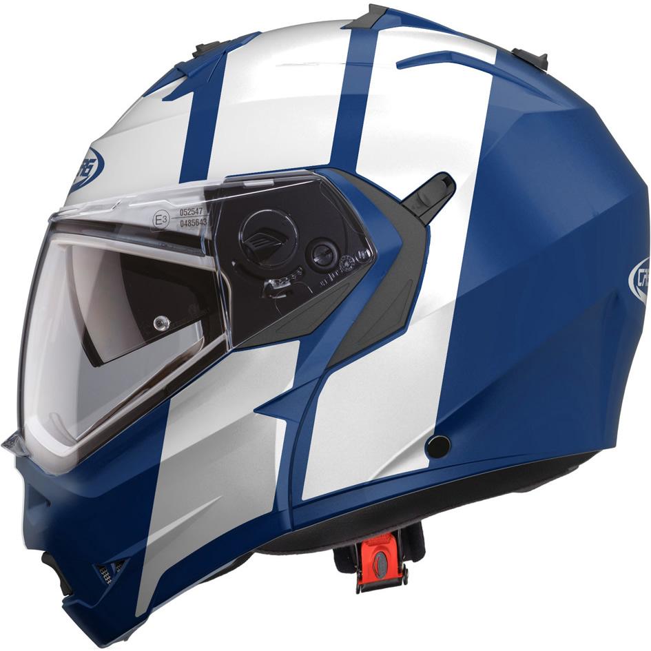 Caberg Duke II Flip Front Motorcycle Helmet S Matt Blue