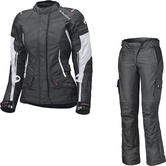 Held Molto Gore-Tex Ladies Motorcycle Jacket & Bene Trousers Black White Kit