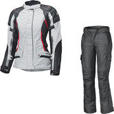 Held Molto Gore-Tex Ladies Motorcycle Jacket & Bene Trousers Grey Black Kit