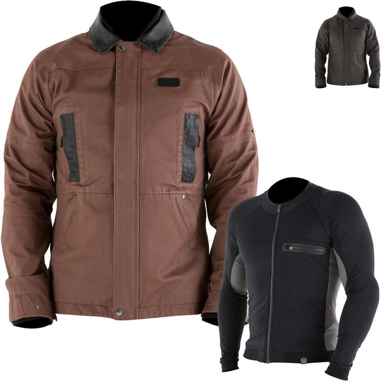 Knox Leonard Wax Jacket with Action Armoured Shirt Package