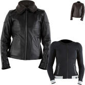 Knox Phelix Leather Jacket with Action Ladies Armoured Shirt Package