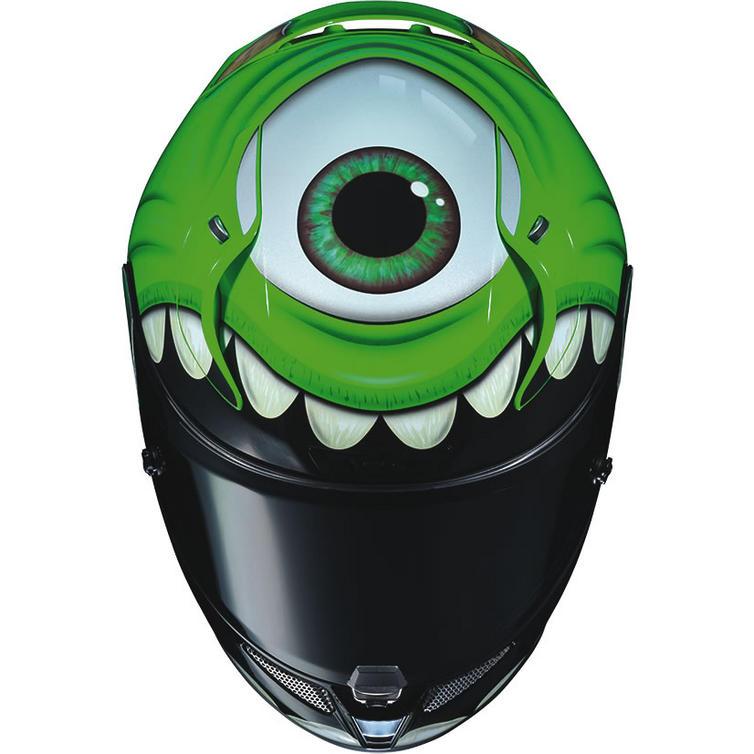 Hjc Rpha 11 >> HJC RPHA 11 Mike Wazowski Disney Pixar Motorcycle Helmet - New Arrivals - Ghostbikes.com