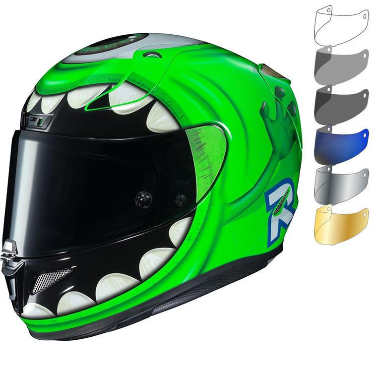 HJC RPHA 11 Mike Wazowski Disney Pixar Motorcycle Helmet & Visor