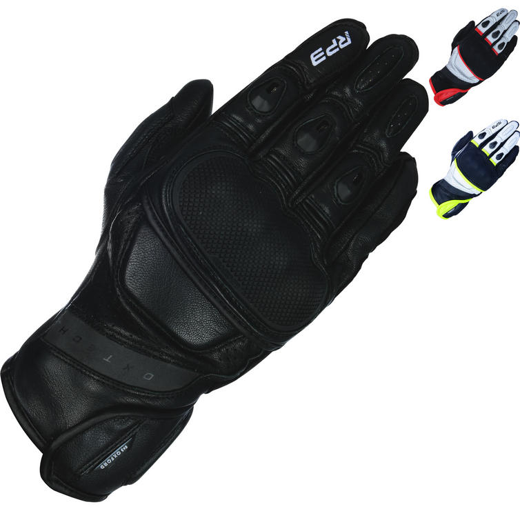 Oxford RP-3 2.0 Leather Short Sports Motorcycle Gloves