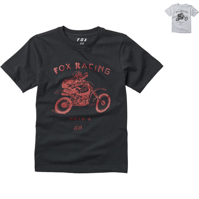 Fox Racing Brigade Youth Short Sleeve T-Shirt