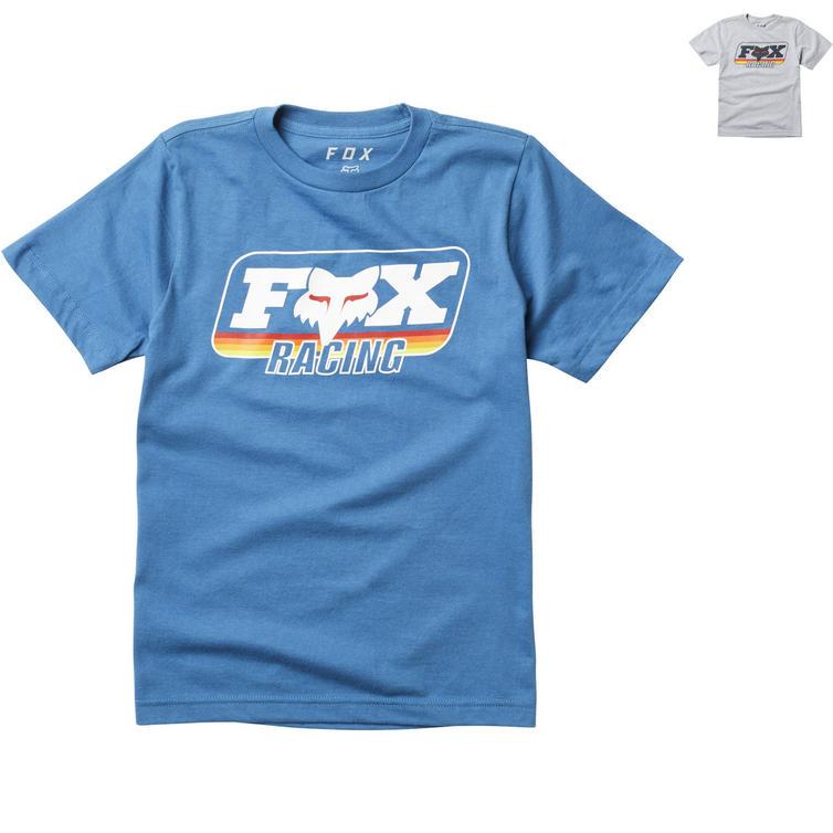 Fox Racing Throwback Youth Short Sleeve T-Shirt