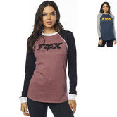 Fox Racing Race Team Ladies Long Sleeve Top