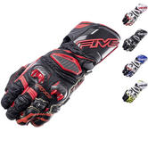 Five RFX Race Leather Motorcycle Gloves