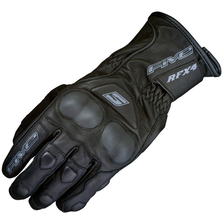 Five RFX4 ST Leather Motorcycle Gloves