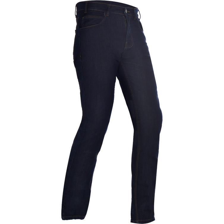 Oxford Hinksey Slim Fit Ink Wash Motorcycle Jeans
