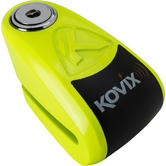 Kovix KAZ10 10mm Alarm Disc Lock Fluo Green