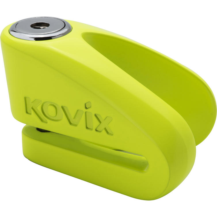 Kovix KV10 10mm Disc Lock Fluo Green