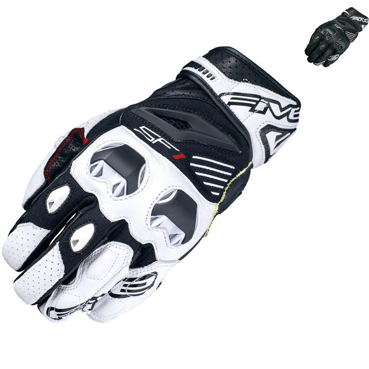 Five SF1 Leather Motorcycle Gloves