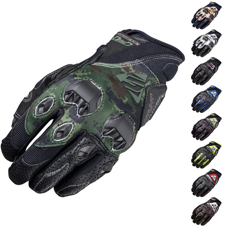 Five Stunt Evo Replica Leather Motorcycle Gloves