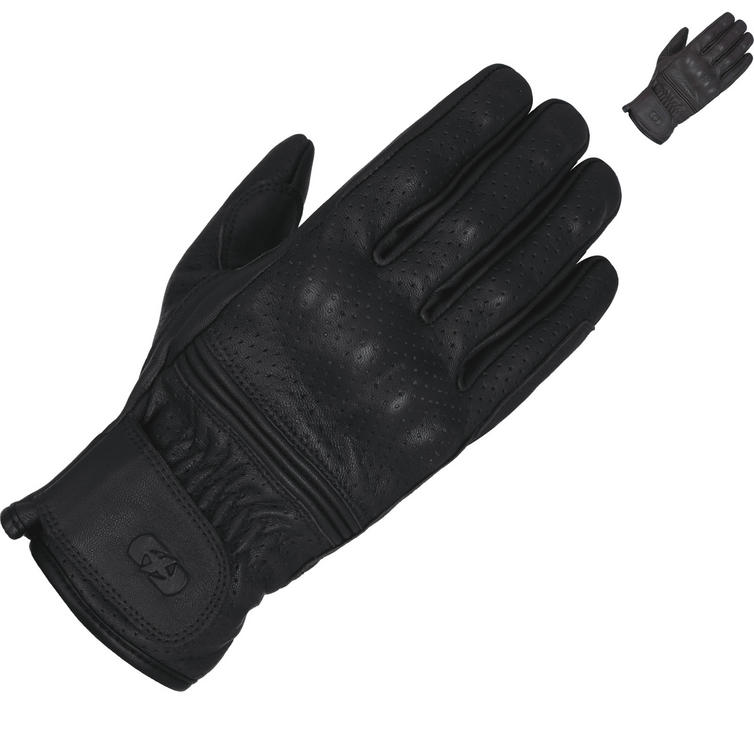 Oxford Holbeach Short Leather Motorcycle Gloves