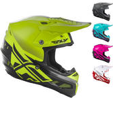 Fly Racing 2019 F2 Carbon MIPS Shield Motocross Helmet