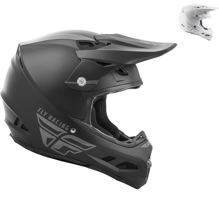 Fly Racing 2019 F2 Carbon MIPS Solid Motocross Helmet