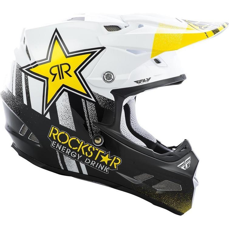 Fly Racing 2019 F2 Carbon MIPS Rockstar Motocross Helmet