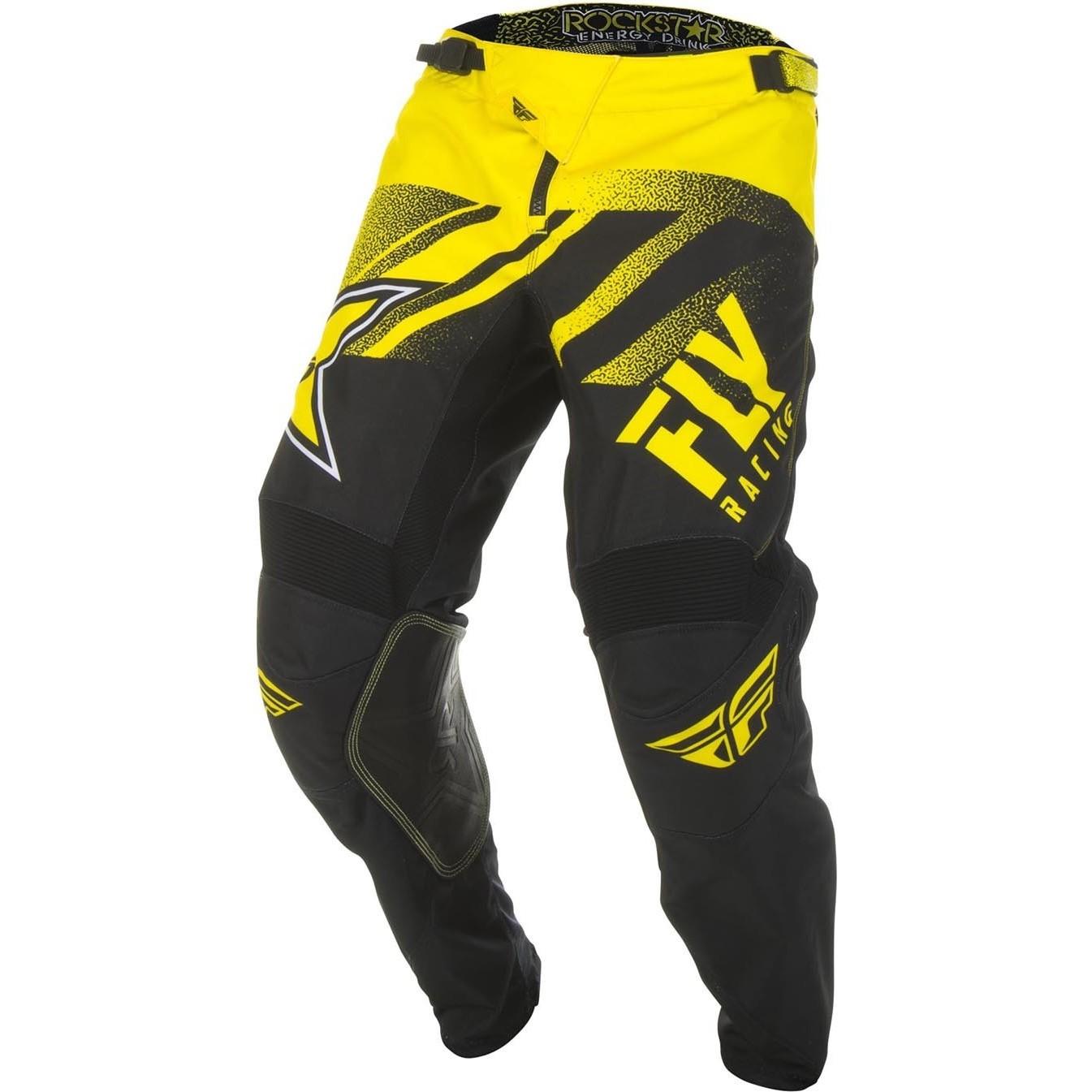 Fly Racing 2019 Kinetic Rockstar Motocross Pants Clearance Ghostbikes Com