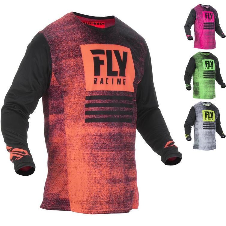 Fly Racing 2019 Kinetic Noiz Youth Motocross Jersey