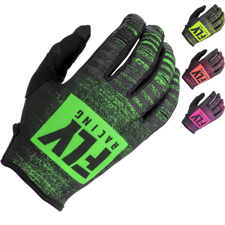 Fly Racing 2019 Kinetic Noiz Youth Motocross Gloves