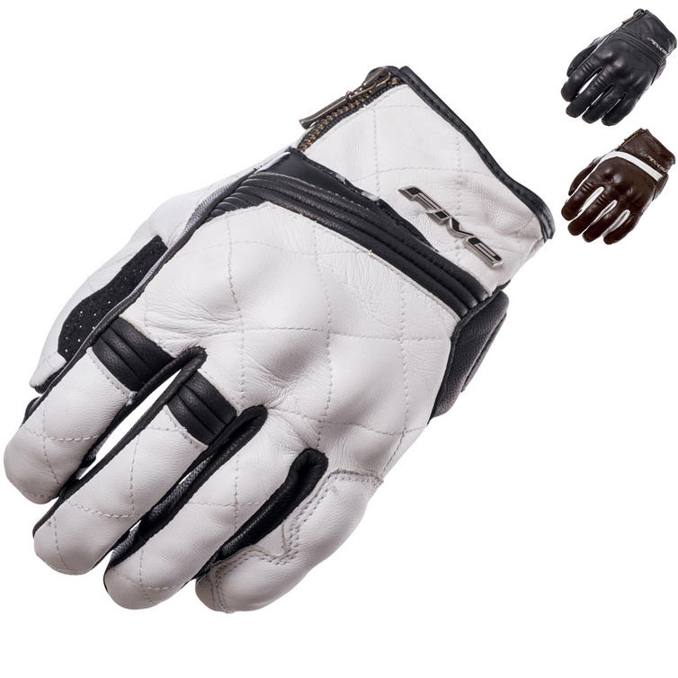 Five Sport City Ladies Leather Motorcycle Gloves