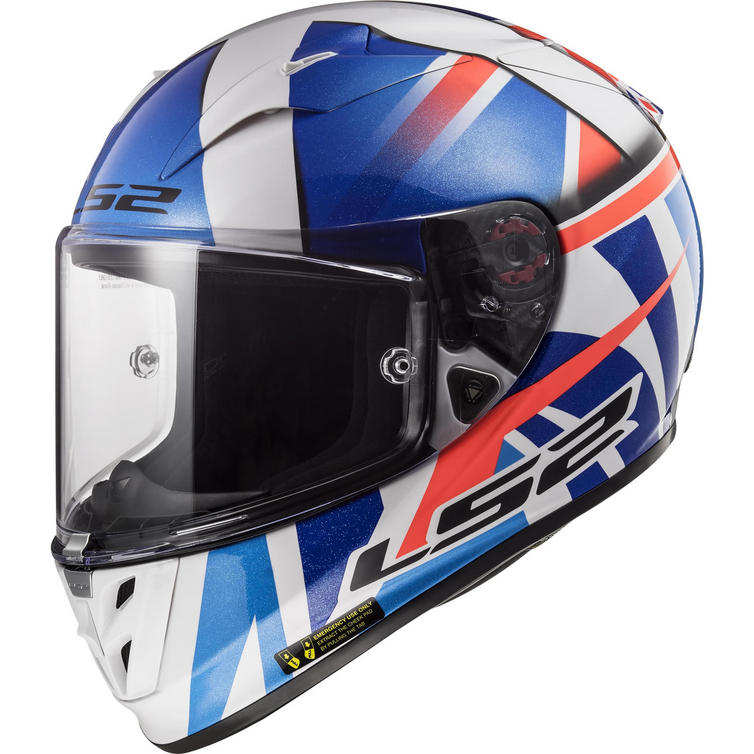 LS2 FF323 Arrow R Evo Replica John McPhee Motorcycle Helmet