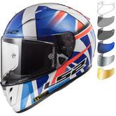 LS2 FF323 Arrow R Evo Replica John McPhee Motorcycle Helmet & Visor