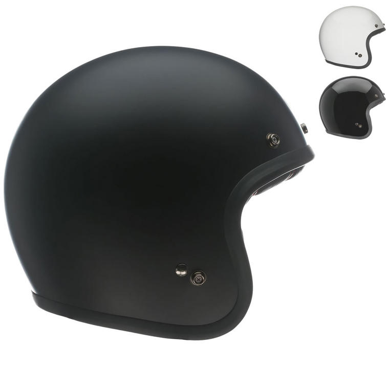 Bell Custom 500 Solid Standard Open Face Motorcycle Helmet