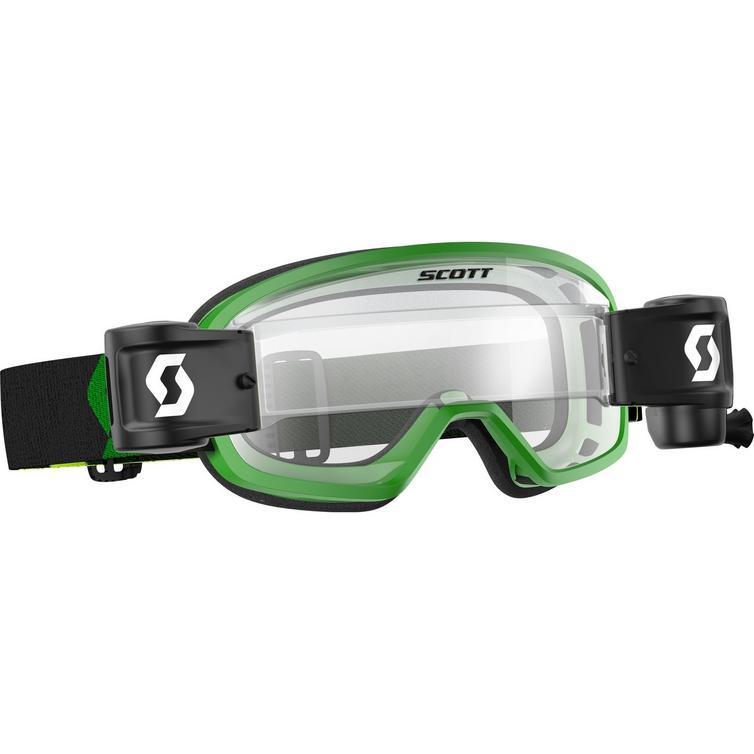 Scott Buzz MX Pro WFS Junior Motocross Goggles (Inc. Roll-Off System)