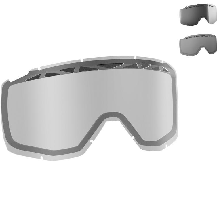 Scott Hustle Tyrant Split Goggle Double ACS Lens