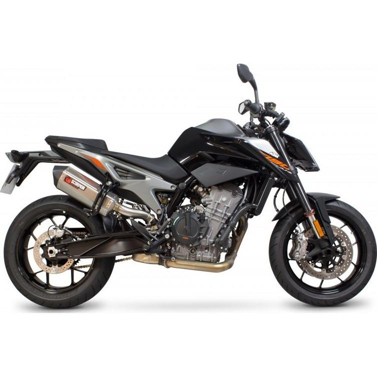 scorpion serket parallel stainless exhaust ktm 790 duke. Black Bedroom Furniture Sets. Home Design Ideas