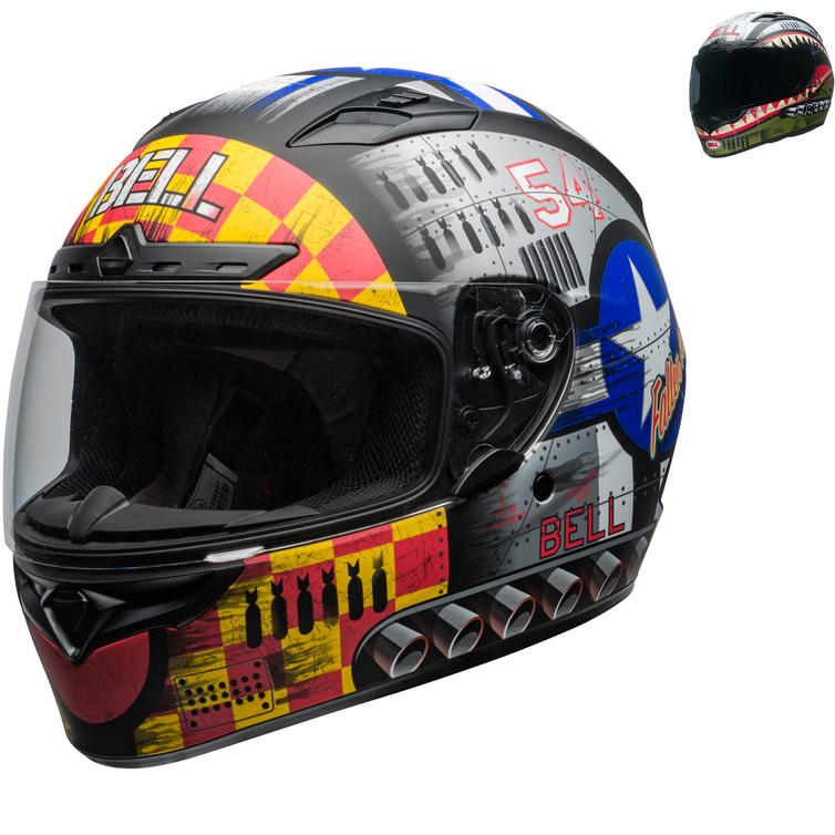 Bell Qualifier DLX MIPS Devil May Care Motorcycle Helmet