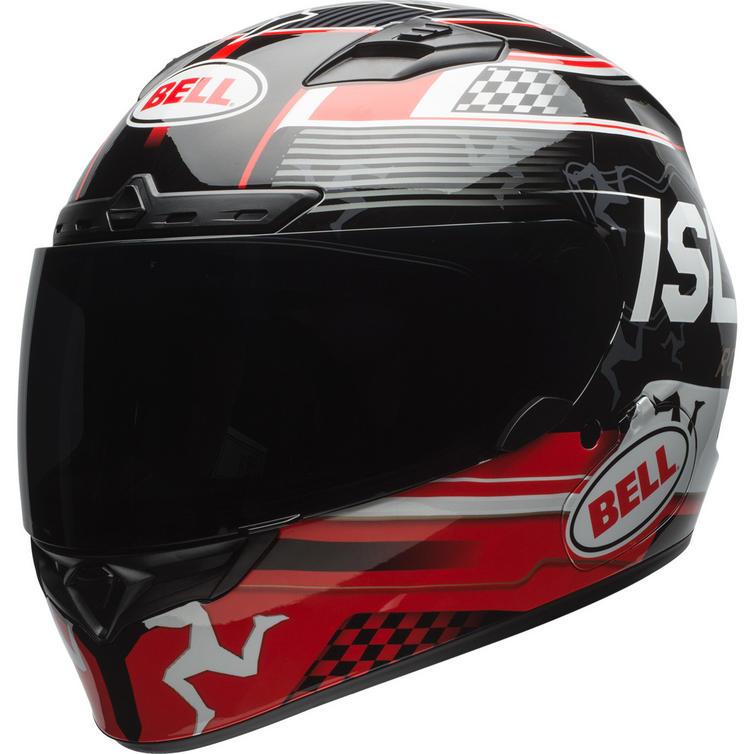 Bell Qualifier DLX MIPS Isle Of Man 18 Motorcycle Helmet