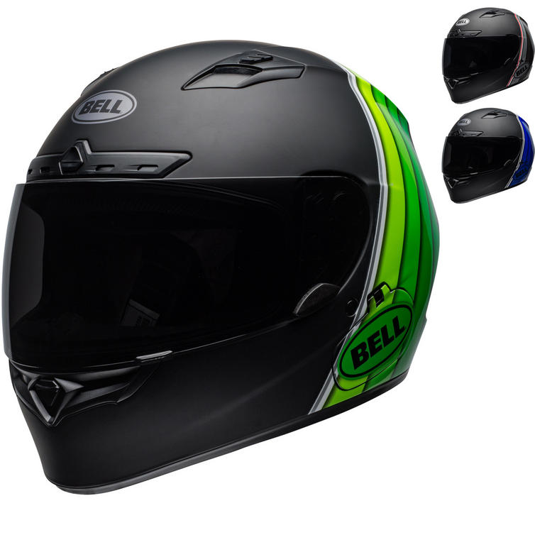 Bell Qualifier DLX MIPS Illusion Motorcycle Helmet