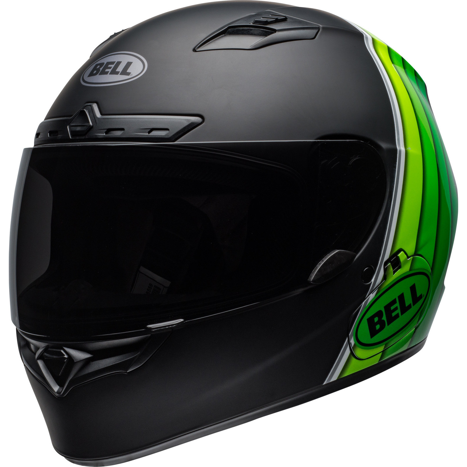 BELL /'Reactolite Visor/' Street Qualifier DLX MIPS Matte BLACK Motorbike Helmet